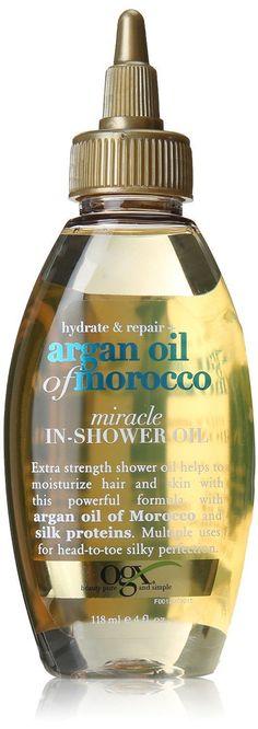 Organix Ogx Hydrate & Repair Argan Oil Of Morocco Miracle In-Shower Hair Oil 4Oz