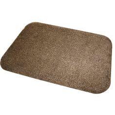 JVL Dirt Angel - Felpudo (50 x 75 cm), color marrón: Amazon.es: Hogar. Material: ALGODÓN y CAUCHO. Apto para lavar a máquina. 21€.