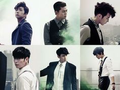 2PM reveal image teasers in suits for Listen to This Song and Come Back