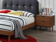 Pat Premium Tapitat cu Stofa Frida Dark Grey #homedecor #interiordesign #inspiration #design #decor #bedroom #bedroomdesing #renovare #ideiredecorare Dark Grey, House Design, Interior Design, Modern, Furniture, Bedrooms, Home Decor, Nest Design, Trendy Tree