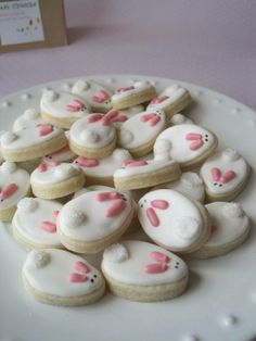 Easter egg cookie inspiration, Tiny bunny sugar cookies, DIY Easter food ideas, Handmade Easter decoration ideas Ideas handmade 33 Perfect Places For A Tattoo No Egg Cookies, Easter Cookies, Easter Treats, Sugar Cookies, Christmas Cookies, Lava Cookies, Easter Cupcakes, Heart Cookies, Valentine Cookies