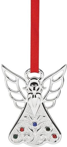 Lenox Jeweled Angel Ornament