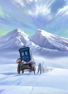 The Doctor in the Himalayas by thetimeagency