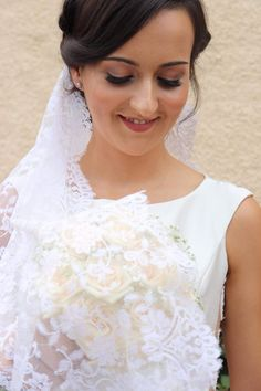 Lace Wedding, Wedding Dresses, One Shoulder Wedding Dress, Brides, Fashion, Moda, Bridal Dresses, Alon Livne Wedding Dresses, Fashion Styles