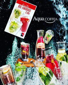 Die leckere Erfrischung bei warmen Sommertagen für die Seele 💦🍹 Bei uns erhaltet Ihr auch die leckeren, fruchtigen Bio-Limonaden von Schärf in verschiedenen Geschmacksrichtungen.  Kommt vorbei und probiert die Schärf Bio-Limonaden in Kombination mit unserer Kirsch-Kathi oder dem leckeren Erdbeerkuchen. 🍒🍓 Ein perfekter Start ins Wochenende! Was meint ihr? 😊… Aqua, Water Bottle, Drinks, Food, Sodas, Strawberry Cakes, Strawberries, Bakken, Drinking