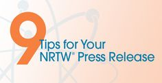 Review best practices for publicizing your NRTW® event.