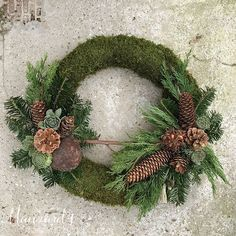 Outdoor Christmas Tree Decorations, Christmas Flower Arrangements, Christmas Plants, Grave Decorations, Fall Door Decorations, Handmade Decorations, Floral Arrangements, Holiday Decor, Flower Factory