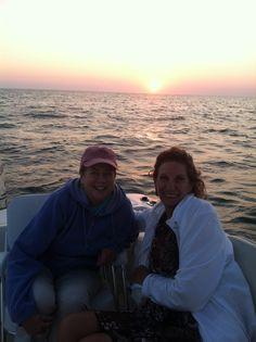 With Family Matriarch Paula on Cape Cod Bay , July 2014
