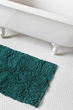 I just bought this... so excited!!! Bed Of Roses Bath Mat  #UrbanOutfitters