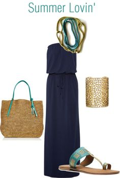 Summer Lovin', created by percolatingdesign on Polyvore