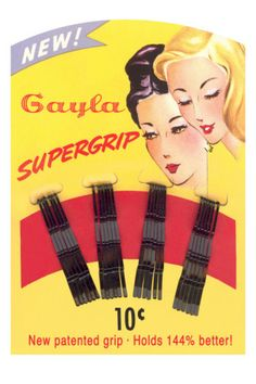 1930's Bobby Pins with Lesbian Undertones...