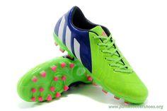 lowest price 4f518 9ee59 Discount Shoes Online AG Rich Blue White Solar Green ADIDAS Predator  Instinct Mens