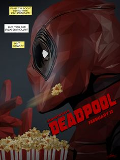 Slathering extra butter on this one, Simon Delart. #DeadpoolCore.