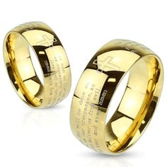 STR-0114 Stainless Steel Gold IP Laser Etched Lords Prayer Ring (10) Jinique http://www.amazon.com/dp/B00I9G47DI/ref=cm_sw_r_pi_dp_adTewb1JYEB11
