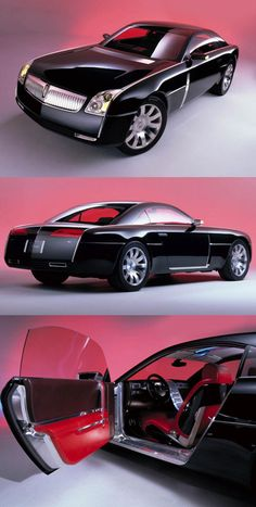 ♂ The Lincoln Mark 9 Coupe's designers began work on the 2001 concept by…