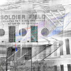 Soldier Field - Chicago Canvas Print Chicago Bears