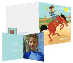 Para los cowboys - #invitación de #cumpleaños infantil