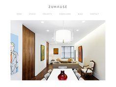 Zuhause Website « An Ordinary Blogfolio