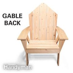 Finally, outdoor furniture that's easy to get in and out of.