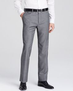 Theory Neat Slim Fit Trousers
