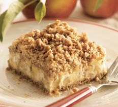Cream Cheese-Apple Crisp Cooking Club of America Just Desserts, Delicious Desserts, Dessert Recipes, Yummy Food, Apple Recipes, Fall Recipes, Sweet Recipes, Fruit Recipes, Pear Dessert