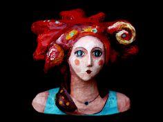 ¨Diosa Caracol¨ Escultura de papel