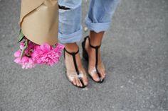 alexander wang clear heels