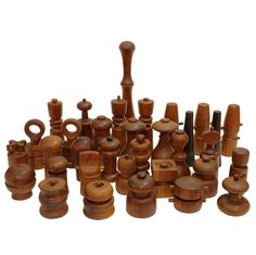 34 Peppermills by Jens Quistgaard for Dansk, Nissen and Others