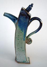 liz langsfeld extruded teapot