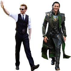 Shit, Tom Hiddleston is sexy as himself AND as Loki. #marrrrymee #LokiLove