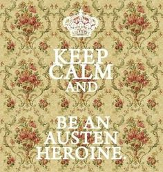 If you love Jane Austen like I do, you'll love this. Figure out which heroine you are! I fancy myself an Elinor Dashwood..