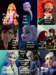 """Only Thing that bothers me is that Merida and Hiccup are """"together"""" in this Comic...HICCUP HAS ASTRID AND MERIDA DOESNT NEED A MAN! WHY CANT YOU UNDERSTAND!"""