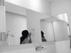 At the mirror  Rouen