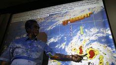 Tyfoon Hagupit komt aan land op Filipijnen. Hln.be 06/12/14 Filipijnen.