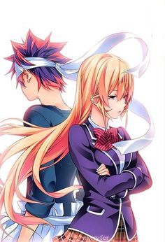 Read Shokugeki no Soma The Day They Met (MS) online. Shokugeki no Soma The Day They Met (MS) English. You could read the latest and hottest Shokugeki no Soma The Day They Met (MS) in MangaHere. Manga Anime, Anime Art, Yukihira Soma, Persona Anime, Shokugeki No Soma Anime, Another Anime, Anime Kunst, My Hero Academia Manga, Animes Wallpapers