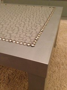 Silver coffee LACK table | IKEA Hackers Clever ideas and hacks for your IKEA