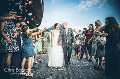 The Boathouse wedding photography Ormesby Broad, summer wedding venue by wedding photographer Chris Bottrell.