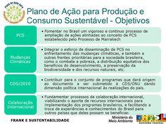 FRANK E SUSTENTABILIDADE: PLANO DE AÇÃO PARA PRODUÇÃO E CONSUMO SUSTENTÁVEIS...