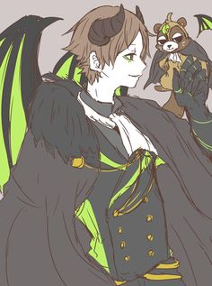 浦島坂田船 うらたぬき ハロウィン Anime People, Anime Guys, Handsome Anime, Cute Anime Boy, Manga Boy, Character Costumes, Vocaloid, Cute Art, Illustration Art