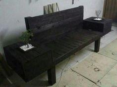 Palets de madera para contruir muebles de casa