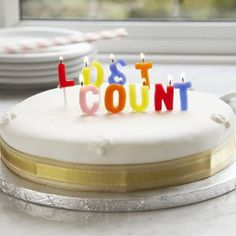 "Birthday cake ""lost Count"""