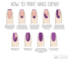"Top 10 nail tips for doing your nails at home (that you never knew about! It's no secret that ""us"" ladies love to do our nails. Well we have Do It Yourself Nails, How To Do Nails, How To Shape Nails, Grow Nails, Gel Nails At Home, Us Nails, Home Nail Salon, Nails And Spa, Salon At Home"