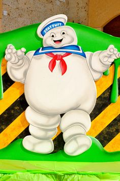 Ghost Busters Puffy Marshmallow-Man custom-made by @Fantasyparty