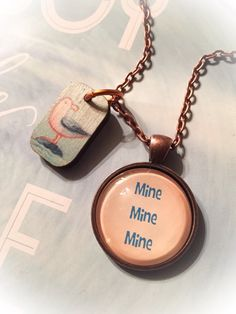 Finding Nemo inspired necklace Finding by LittleThingsByLaurie