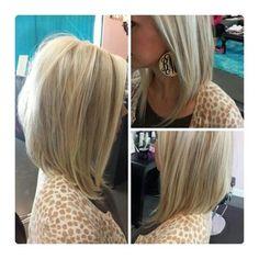 Long Bob Haircuts for Beautiful Women 27 Beautiful Long Bob Hairstyles Shoulder Length Hair Cuts - Hairstyle ideas Angled Bob Hairstyles, Long Bob Haircuts, Straight Hairstyles, Everyday Hairstyles, Lob Haircut, Lob Hairstyle, Pretty Hairstyles, Hairstyle Ideas, Hairstyles 2016