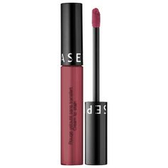 Cream Lip Stain - SEPHORA COLLECTION | Sephora. This bestselling, high-coverage lip color glides on smooth and transforms from a creamy texture into a silky, lightweight stain. Infused with avocado oil, the long-lasting formula delivers rich color that feels comfortable, is never sticky, and won't dry out lips. (affiliate)