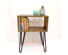 Hairpin Legs Table Mid Century Modern Tables by VintageHouseCoruna