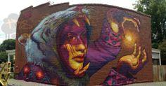 Top Street Artists Create 20 Massive New Murals in Richmond - My Modern Metropolis Art Challenge, Modern Art, Contemporary Art, Magnified Images, Sidewalk Chalk Art, Sidewalk Cafe, Space Artwork, Urbane Kunst, Best Street Art