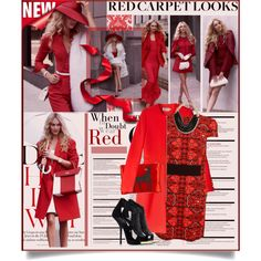 """""""Lady In Red"""" by edenslove on Polyvore"""