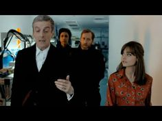 A brand new clip from the upcoming series 8! Starting to get really excited!! Capaldi is amazing and hilarious!